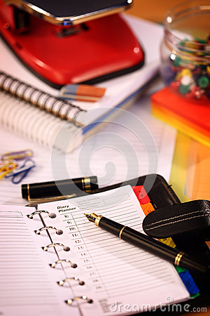 Free Office Stationery Stock Photo - 38880370