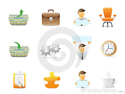 Office stuffs icons