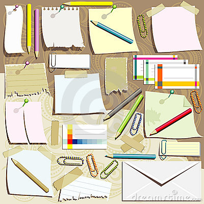 Office supplies composition