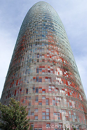 Office Tower in Barcelona