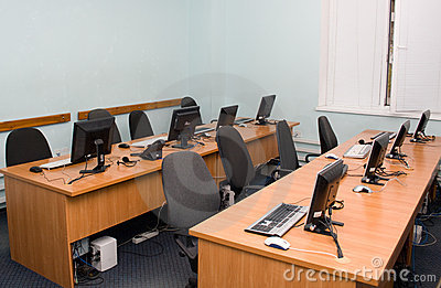 Office or training centre interior