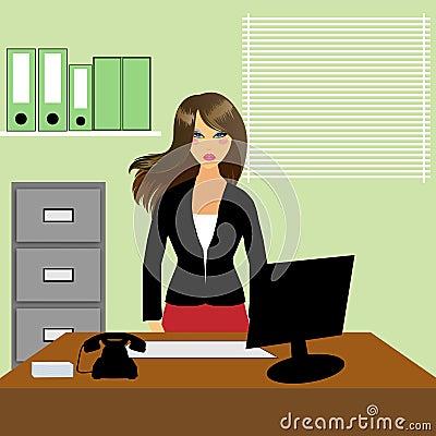Office & Woman