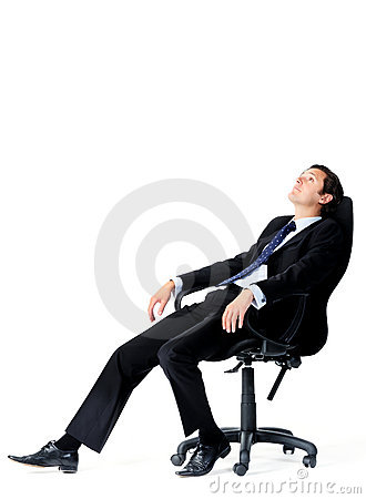 Free Office Worker Daydreams Stock Photo - 22256990