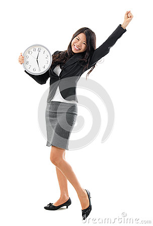 Free Office Worker Off Work Royalty Free Stock Photography - 28650487