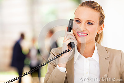 Office Worker Phone Royalty Free Stock Photography - Image: 29146977