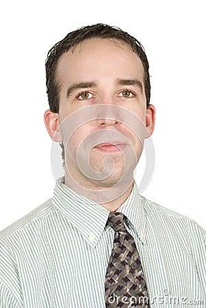 Office Worker Portrait