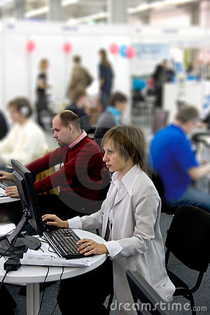 Free Office Workers Stock Image - 3495231