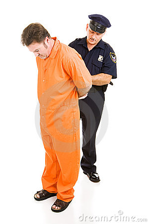 Officer Handcuffs Prisoner