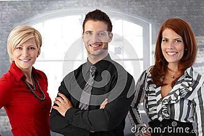 Official business team portrait