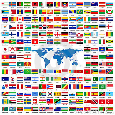Free Official Flags Of The World Stock Image - 5663091