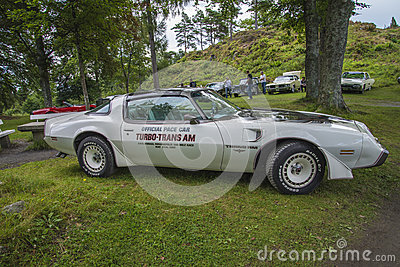 Official pace car, turbo-trans am Editorial Stock Photo