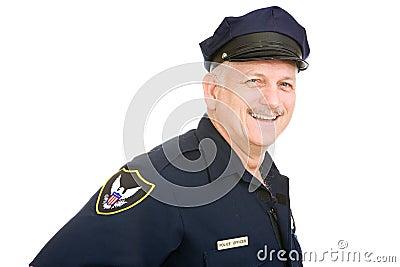 Offizier freundlich