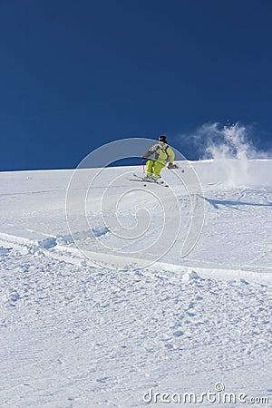 Offpiste skiing