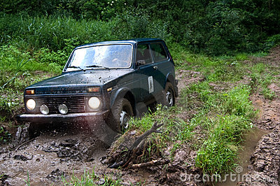 Offroad in wilds
