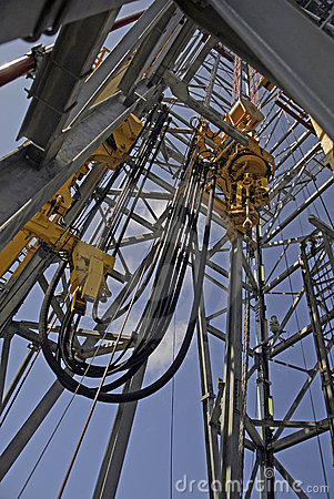Free Offshore Drilling Derrick Stock Image - 3125301
