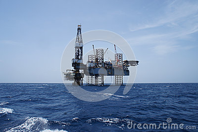Offshore Jack Up Oil Drilling Rig