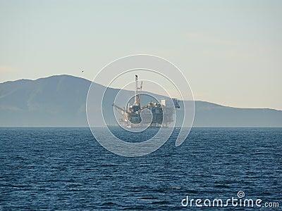 Offshore Oil Rig California