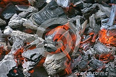 Ogień embers forge