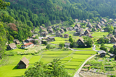 Ogimachi village