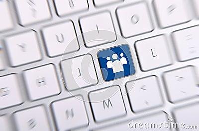 Ogólnospołeczny środka klucz