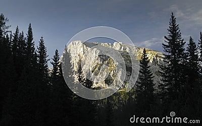 Ogradi (2087)  in Julien Alps in Slovenia