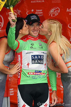 OGrady In Tour Down Under Editorial Image