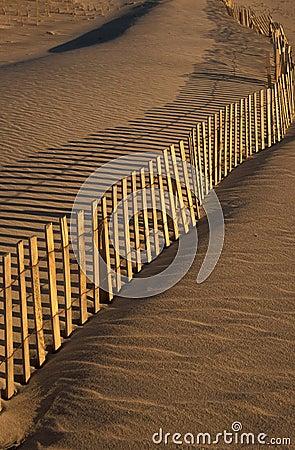 Ogrodzenie na plaży