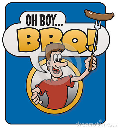 Oh boy barbecue design stock vector image 52815117 for Oh design