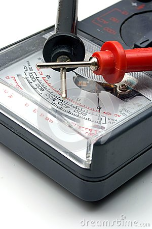 Ohm Meter with Probes
