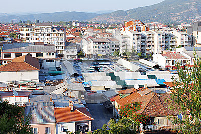 Ohrid from above Editorial Image