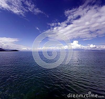 Free Ohrid Blue 8 Royalty Free Stock Photo - 5489845