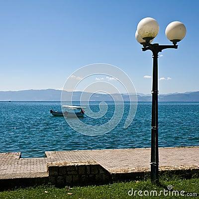 Ohrid Lake Scene