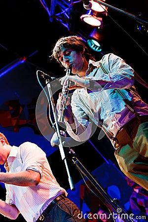Oi Va Voi, Jazz Koktebel Festival 2009 Editorial Stock Photo
