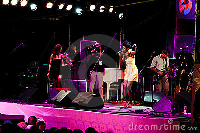 Oi Va Voi, Jazz Koktebel Festival 2009 Editorial Image