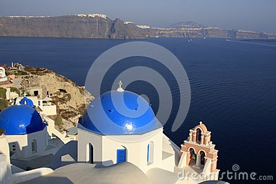 Oia, city in Greece island Santorini