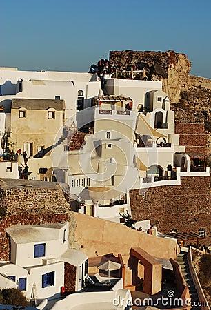 Oia Village architecture