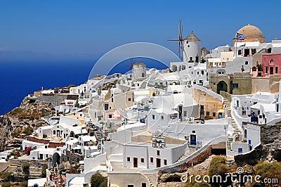 Oia village, Santorini island, Greece