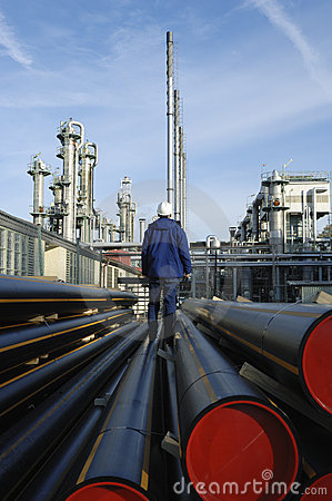 Free Oil And Gas Heavy Industry Stock Photography - 3521942