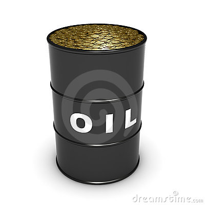 Oil barrel coins