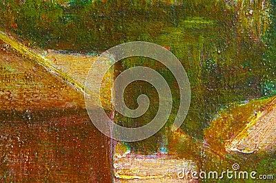 Oil color landscape background