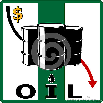 Oil crisis. Fall in oil prices