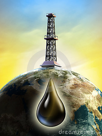 Free Oil Derrick Stock Photo - 18679340