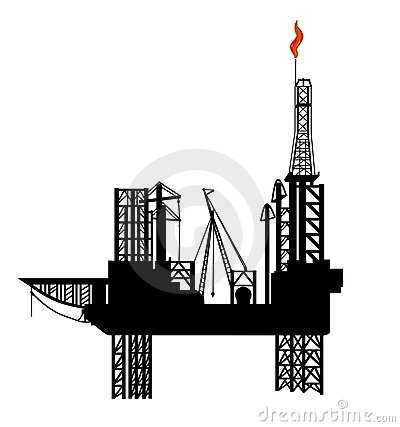 Free Oil Drilling Platform Royalty Free Stock Images - 4184609