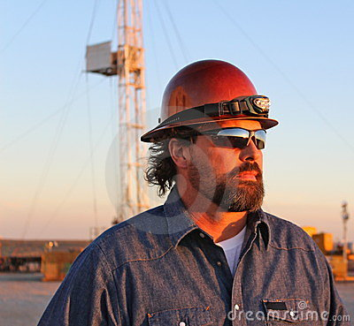 Free Oil Field Royalty Free Stock Photo - 23452405