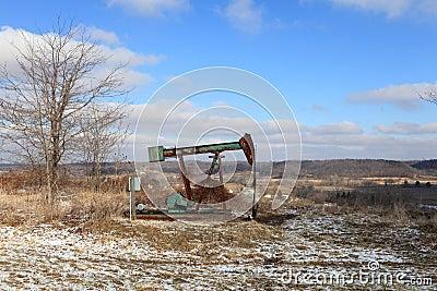 Oil Field pump jack