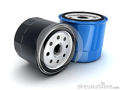Oil filters car