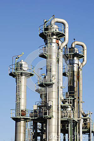 Oil and fuel towers