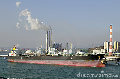 Oil and gas industry - grude oil tanker