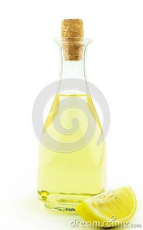 Oil and lemon