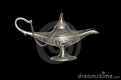 Oil magic lamp